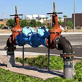 backflow prevention flow