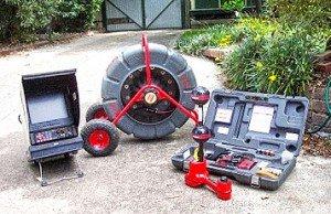 CCTV drain camera inspection equipment