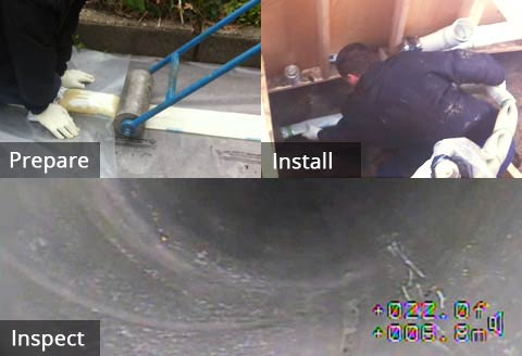 Drain Pipe Lining Services