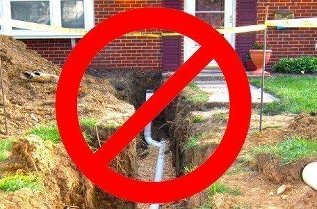 no dig drain repairs using cipp drain lining