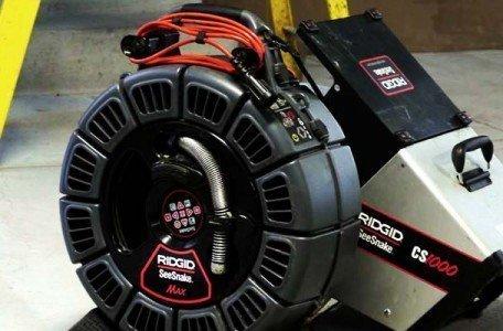 drain camera equipment from RIDGID