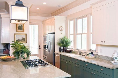 beautiful kitchen home after a remodeling project