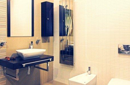modern bathroom after home upgrade