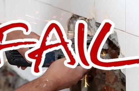 plumbing diy fail