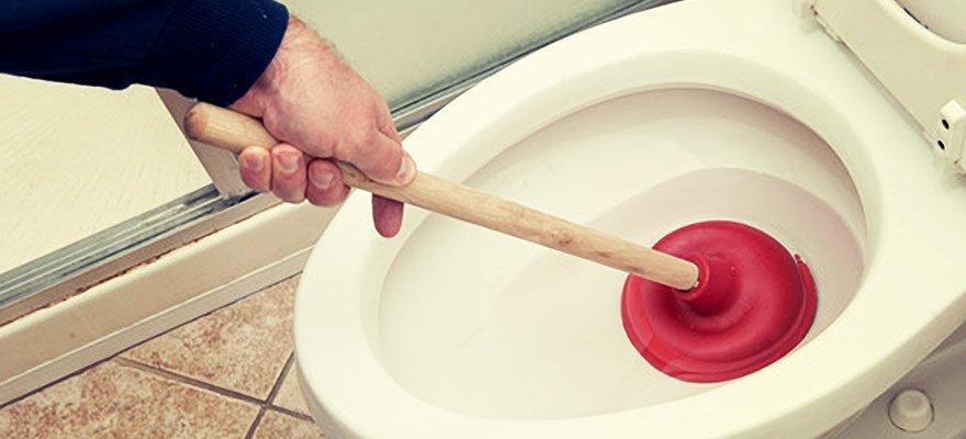 Clogged Sink? Toilet Won\'t Flush? A Plunger Can Help