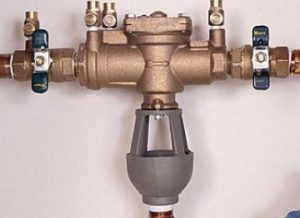 air gap backflow prevention device