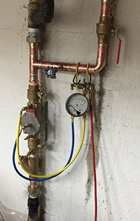 Double Check Valve Assembly (DCVA) Backflow Prevention Device