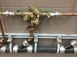 Reduced Principle (RP) Backflow Prevention Device