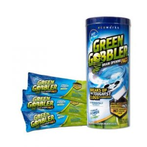 green gobbler, an eco-friendly drain cleaning option