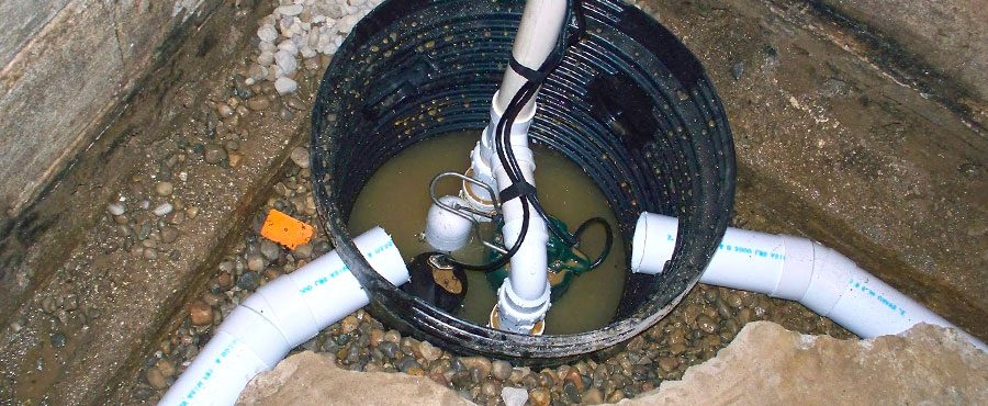 Amazing Sump Pump Installed In A Sump Pit In The Basement Of An Etobicoke Home