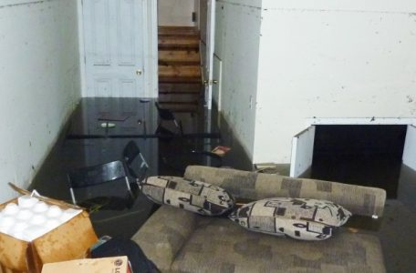 Completely flooded home in a mississauga residents