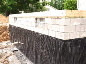 basement waterproofing during home renovation project in acton ontario