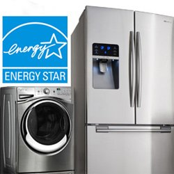 energy efficient appliances featuring the energy star logo