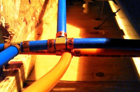 kitec plumbing pipe before replacement