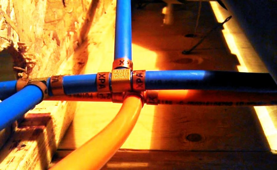 kitec plumbing pipe before replacement