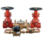 Backflow preventer to be used on fire sprinkler systems.