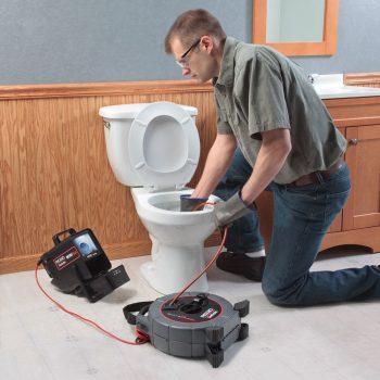 Toronto plumber providing drain camera inspection